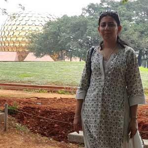 Chatura Hutheesing, @Auroville, Near Puducherry, 25th December, 2015